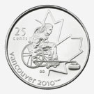 Vancouver Coins 2010 - Wheelchair Curling
