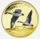 Vancouver Coins 2010 - Canada Geese
