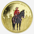 Vancouver Coins 2010 - Royal Canadian Mounted Police
