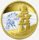 Vancouver Coins 2010 - Inukshuk