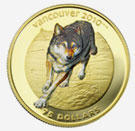 Vancouver Coins 2010 - Wolf
