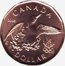 1 Dollar 2008 Lucky