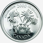 25 cents 2000 - July - Celebration