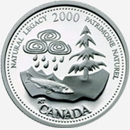 25 cents 2000 - May - Natural Legacy