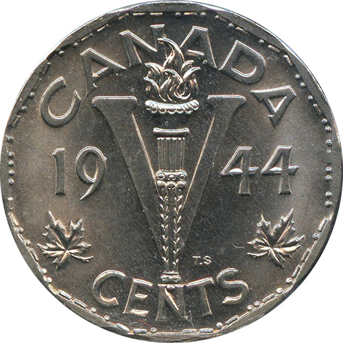 1 cent 1944 - No chrome