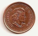 1 cent 2003 - New portrait