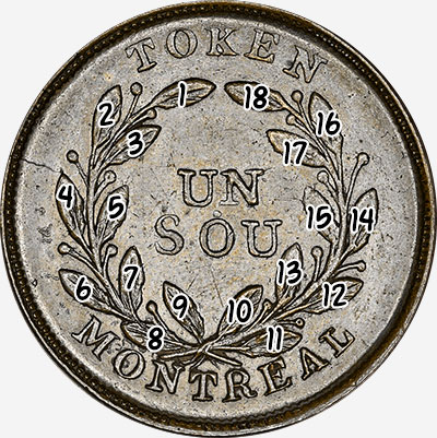 Bouquet - Un Sou - Token